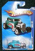 Hot Wheels 2010 HW HOT RODS HWCC Rod & Custom 04 of 10 Teal '32 Ford