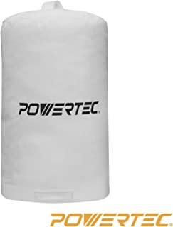 POWERTEC 70006 Dust Collector Bag, 14-Inch x 24-Inch, 1 Micron Filter