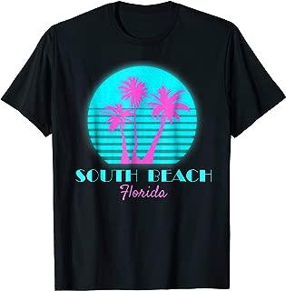 South Beach Florida Souvenir T Shirt Miami Beach Tee