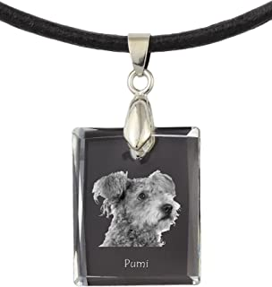Art Dog Ltd Doberman uncropped Photo Jewelry Handmade Necklace for People who Love Dogs
