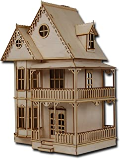 Half Scale Tennyson Laser Cut Dollhouse Kit 1/2