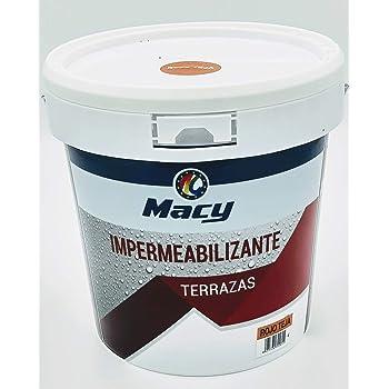 Pintura impermeabilizante economica ideal para eliminar las goteras de tu terraza, tejado, casa. Iglú Varios Colores (4L, Blanco) Envío GRATIS 24 h.: Amazon.es: Bricolaje y herramientas