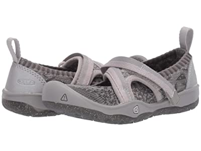 Keen Kids Moxie Sport MJ (Toddler/Little Kid) (Silver) Girl