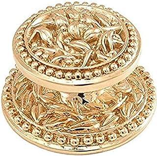Vicenza Designs K1001 San Michele Knob, Large, Polished Gold