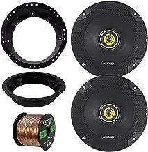 98-13 Harley Speaker Bundle: 2X Kicker CSC654 6.5