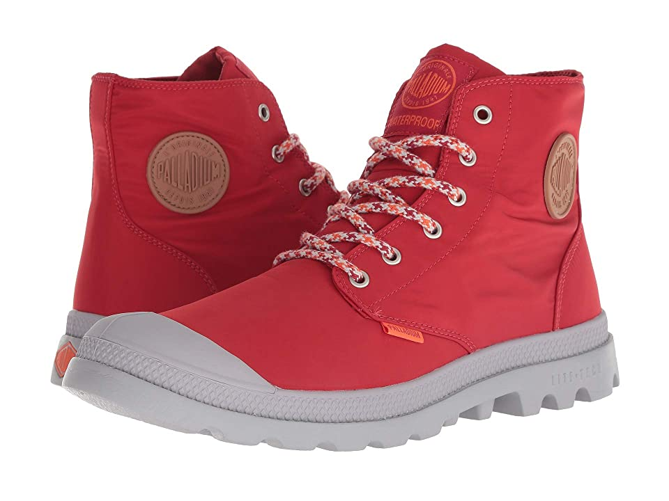 Palladium Pampa Puddle Lite Water Proof (Chili Pepper/Silver Sconce) Lace-up Boots