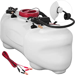 Happybuy Spot Sprayer 15.8 Gallon 12 Volt ATV Spot Sprayer 0.6 GPM 58 PSI Broadcast and Spot Sprayer for Garden Lawn Agriculture Spray