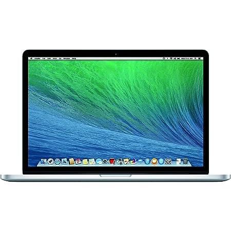 Apple MacBook Pro 15in Core i7 2.5GHz Retina (MGXC2LL/A), 16GB Memory, 512GB, U.S. QWERTY Keyboard, SSD, Silver, Mac OS X (Renewed)
