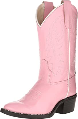 J Toe Western Boot (Toddler/Little Kid)