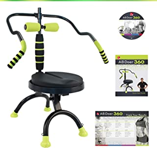 AB Doer 360 Kit, The Abs Workout Equipment for Total Core Exercise, Fat Burning, Toning and Fitness at Home