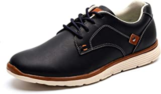 New Leather Shoes Men's Flats Design Style Men Shoes Fashion Lace Up Casual Shoes for Men Big Size 39-46#IL007-2