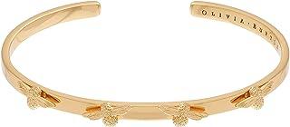 Olivia Burton Women'S Brass Gold Bangle Bracelets -OBJ16AMB35