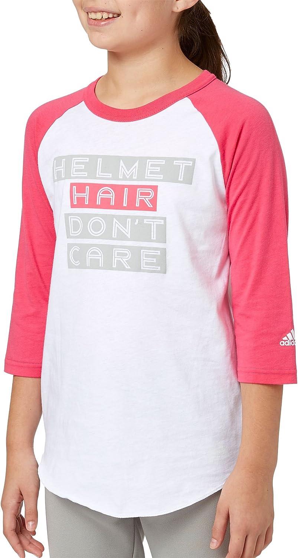 Adidas Mdchen Helm Haar a  Sleeve Softball Shirt