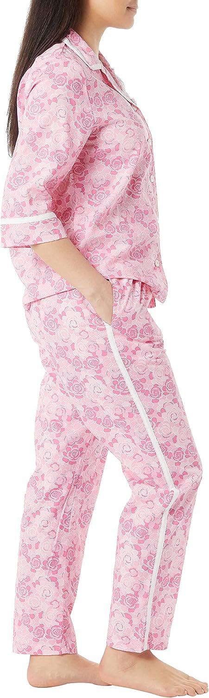 AmeriMark Women's Lightweight Pajama Set - Printed PJs 2 Piece Set