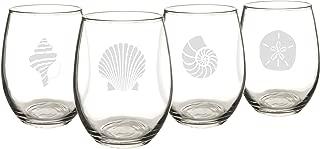 Best beach stemless wine glasses Reviews