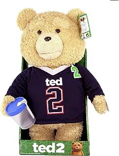 Ted2(テッド2) 16インチ トーキング&ムービングプラッシュ ジャージ Explicit 40cm しゃべるぬいぐるみ [並行輸入品]
