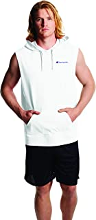 Champion Mens S5711 Middleweight Sleeveless Hoodie Sleeveless Hooded Sweatshirt