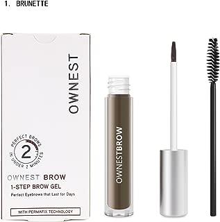 Ownest Makeup 4 Colors Eyebrow Color Perfect Eyebrows Waterproof Eyebrow Gel-Brunette