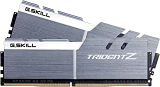 G.Skill DDR4-3200 TridentZシリーズ F4-3200C16D-16GTZSW 16GB(8GB×2), シルバー+ホワイト