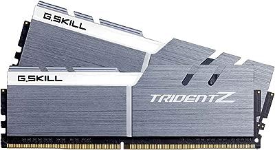 G.SKILL 16GB (2 x 8GB) TridentZ Series DDR4 PC4-27700 3466MHz For Intel Z170 Platform Desktop Memory Model F4-3466C16D-16GTZSW