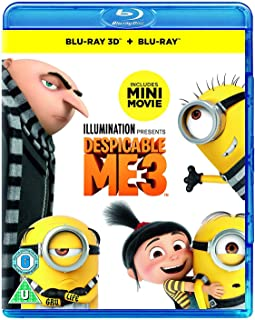 Despicable Me 3 [3D Blu-Ray + 2D Blu-Ray]