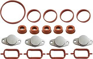 Twowinds - Kit ANULAR Mariposas del COLECTOR de Admisión (22mm) 4 Cilindros + 14 juntas. Evita la Averia Palomillas E90 E46 E39 E60 E61 E65 X3 X5