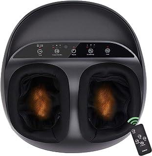 RENPHO Foot Massager Machine with Heat and Remote, Shiatsu Deep Kneading, Multi-Level..