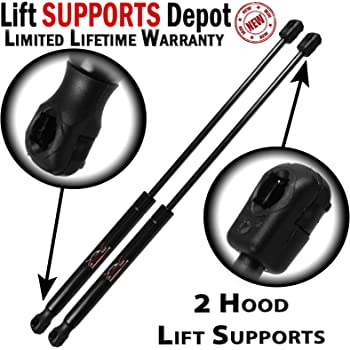 92654066316 Fits Audi Q7 Set of 2 Hood Lift Supports Lesjofors 8004225 31639