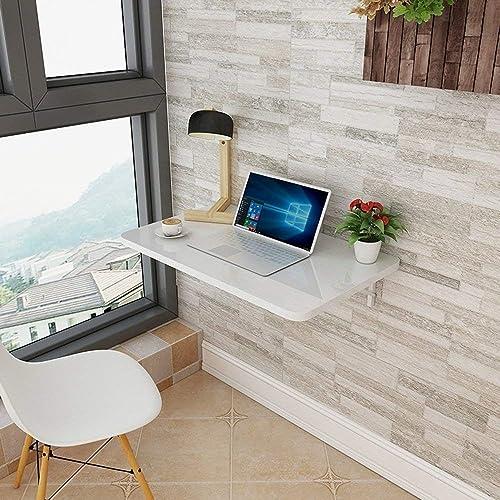 Deawecall Tisch, zusammenklappbar, zur Wandmontage, erh lich, Weiß 80cm5cm