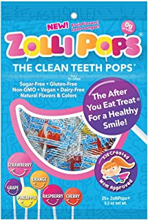 The Clean Teeth Pops, Anti Cavity Lollipops
