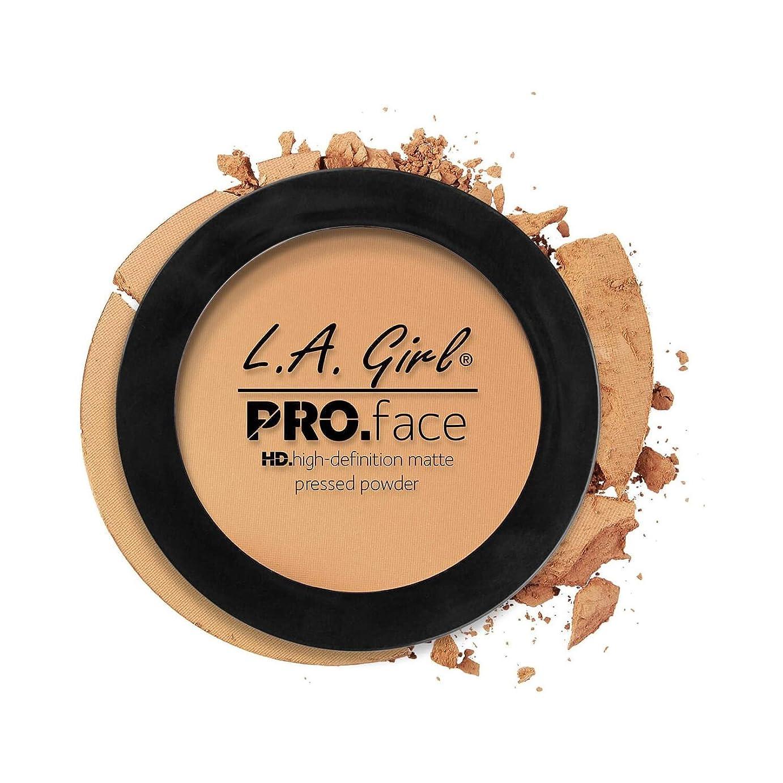 少年揮発性従うLA GIRL PRO Face Powder - True Bronze (並行輸入品)