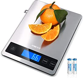 Explore scales for cooking