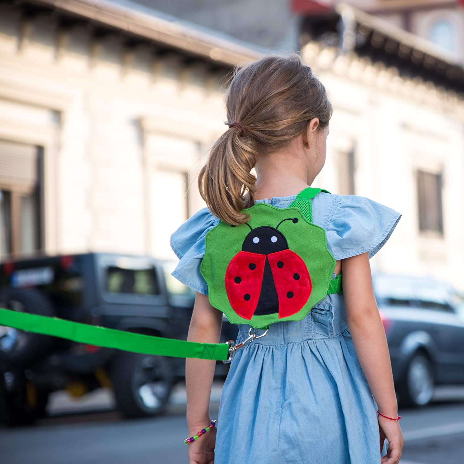 Child Leashes for Toddlers with Wrist Link - Cute Children Safety Harness Leash Kid Wristband Assistant Strap Belt with Anti Loss Wrist Link Safety Wrist Link for Toddlers 1-3 Years Old Boys and Girls