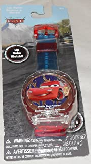 DP Disney Pixar Cars Lip Balm Watch - This is NOT an Actual Watch - Just Looks Like a Watch with Bubble Game Flavored Lip Balm