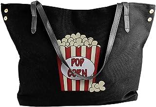 Easter Eggs Pattern Fashion Womens Multi-Pocket Vintage Canvas Handbags Miniature Shoulder Bags Totes Purses Shopping Bags