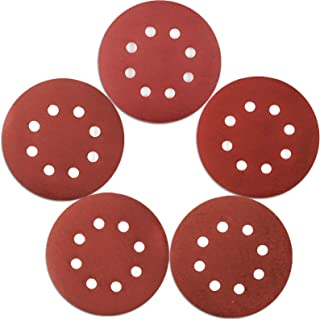 Coceca 120pcs Orbital Sandpaper, 5 Inches 1000 1200 1500 2000 3000 Grit 8 Hole Orbital High Grit Sanding Discs with Hook a...