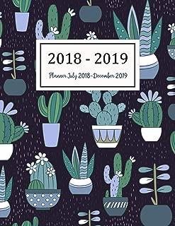 Planner July 2018-December 2019: Two Year - Daily Weekly Monthly Calendar Planner | 18 Months July 2018 to December 2019 For Academic Agenda Schedule ... (Academic Planner 2018-2019) (Volume 10)