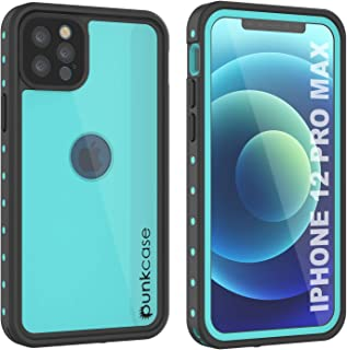 Punkcase Designed for iPhone 12 Pro Max Waterproof Case [StudStar Series] [Slim Fit] [IP68 Certified] [Dirtproof] [Snowpro...
