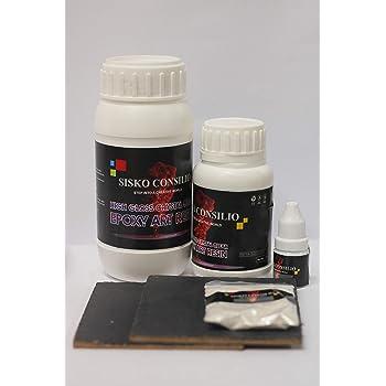 SISKO CONSILIO - SICO CRYSTAL HIGH GLOSS ART EPOXY RESIN - METALLIC PEARL KIT