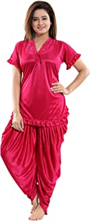 Fashigo Women's Patiala Top and Pyjama Set (Free Size)