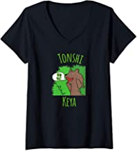 Womens Tonshi Keya How Are You Michif Metchif Metis Language V-Neck T-Shirt