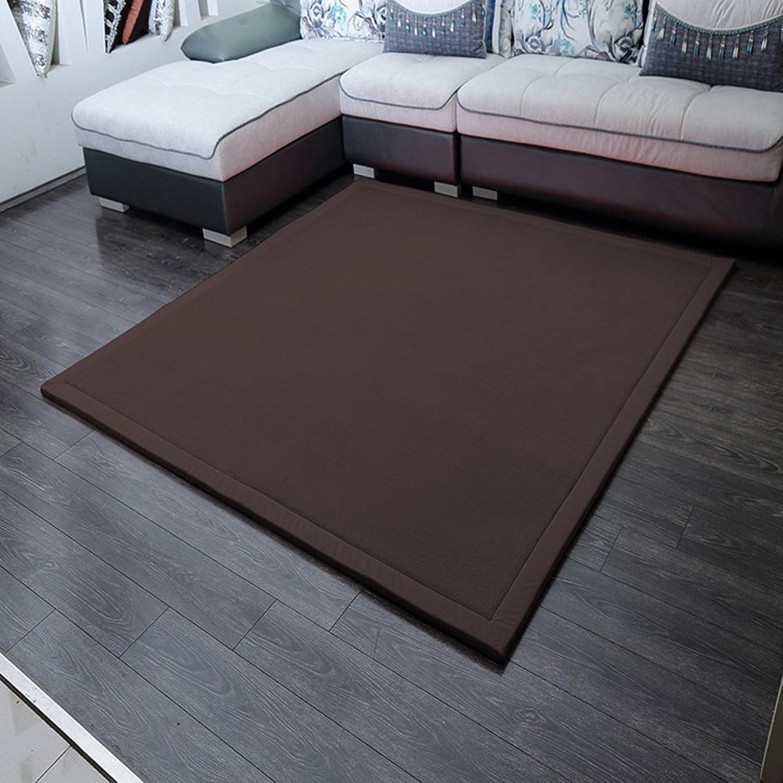 Solid color coral velvet mat [modern] Simple Coral velvet padded mat Bedroom Bedside mats-C 80x200cm(31x79inch)