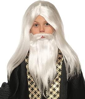 Inc - Wizard Child Wig and Beard