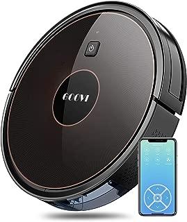 GOOVI Robot Vacuum, 1600PA Robotic Vacuum Cleaner with Wi-Fi, Super-Thin, Self-Charging Robot Vacuum Cleaner, Best for Pet Hairs Hard Floors & Medium-Pile Carpets