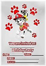 Amazon Es Invitaciones Cumpleaños Patrulla Canina