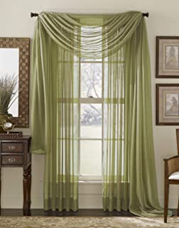 Best sage green swags Reviews