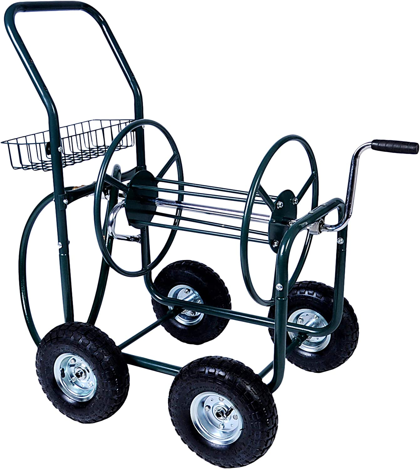 KARMAS PRODUCT Garden Hose Reel Cart Stor Portable Dealing full price reduction 2021 autumn and winter new 4 Wheels with