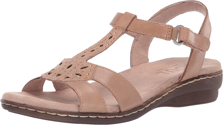 SOUL Naturalizer Women's Bliss Sandal, Gingersnap, 5 M US