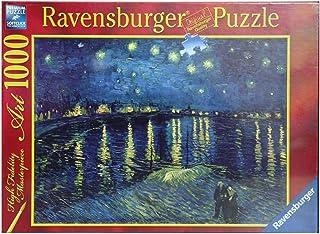 Ravensburger, Rompecabezas Van Gogh: Noche Estrellada, 1000 Piezas