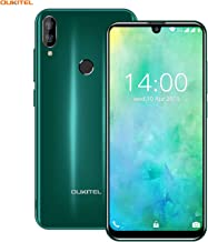 Điện thoại di động Android – OUKITEL C16 Android Smartphone 5.71″ 19:9 Waterdrop Screen Phone, Dual Rear Camera, 2600mAh Battery, 2GB+16GB Quad Core Fingerprint Face ID, 3G GSM Unlocked Cellphone Android 9.0 (Green)